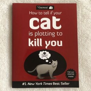Cat Novelty Humour Coffee Table Book